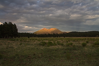 Sunset Crater National Monument (Arizona).