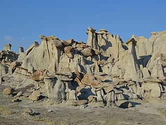 Bisti Badlands (New Mexico).